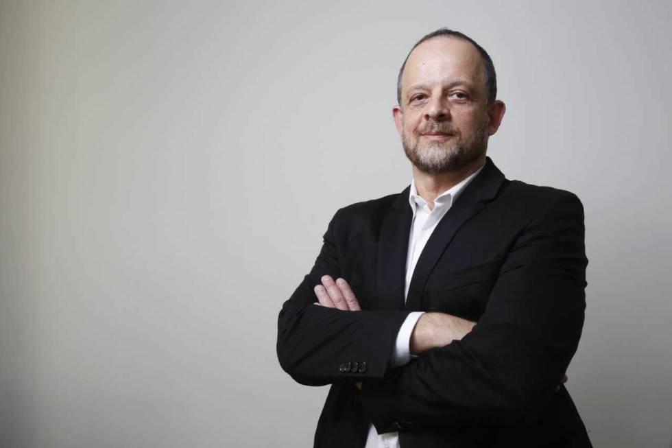 Breno Altman, durante su entrevista esta semana en Madrid.