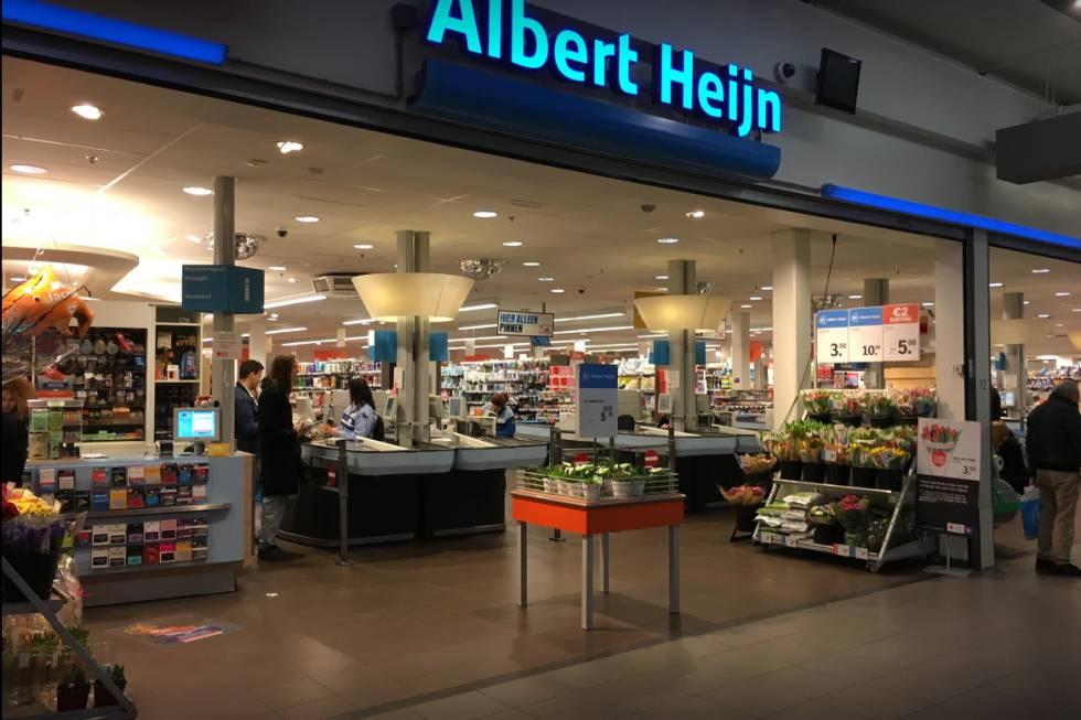 Uno de los supermercados de la cadena Albert Heijn.