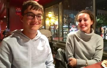 Los hermanos Wilfred y Marianne Mason, de 19 y 17 años.