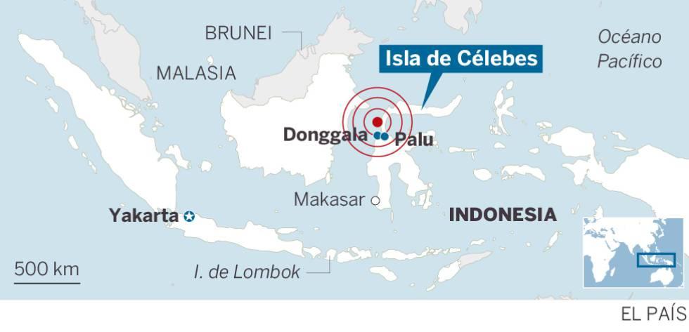 Indonesia abre fosas comunes para enterrar a las víctimas del terremoto y el tsunami