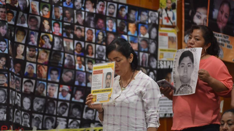 Peña Nieto crea un sistema de búsqueda de desaparecidos a 53 días de dejar  el cargo | Internacional | EL PAÍS