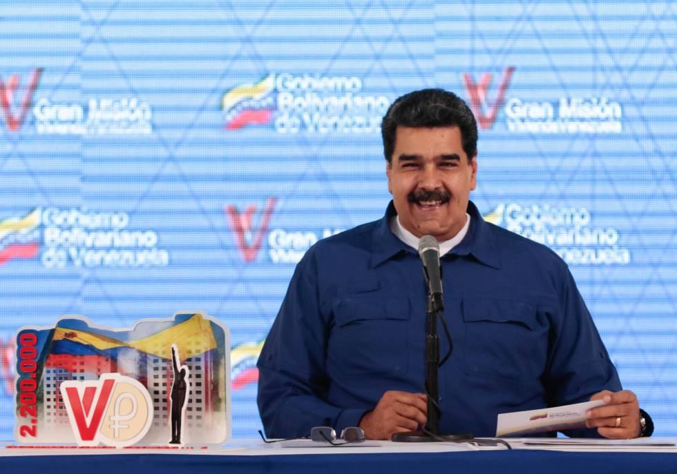 El presidente venezolano, Nicolás Maduro, la semana pasada.