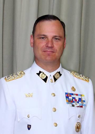 Coronel Germán Villarroel, ex-diretor da Escola Militar de Chile.