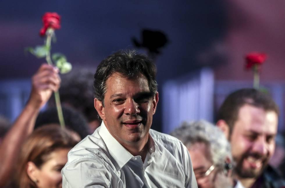 Balotage en Brasil| Crece la intensión de votos hacía Fernando Haddad