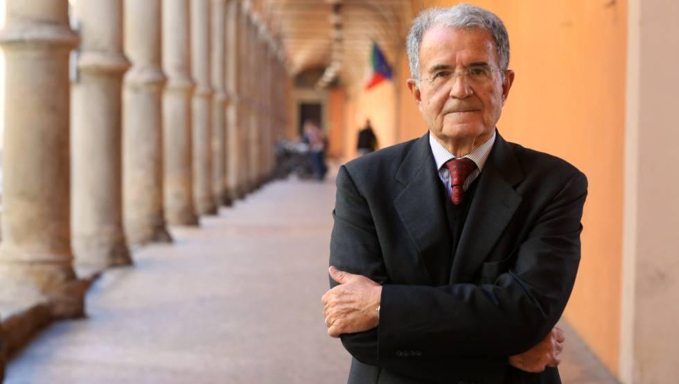 Romano Prodi, el pasado martes en Bolonia.
