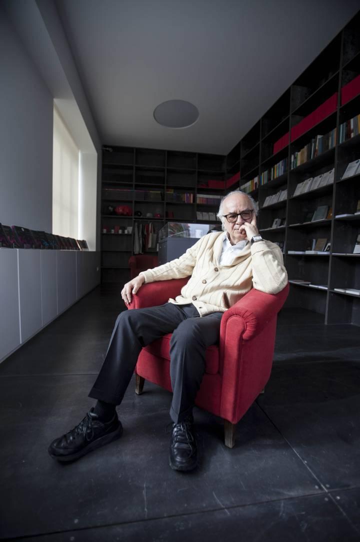 Boaventura de Sousa Santos, en el Centro de Estudios Sociológicos de la Universidad de Coimbra. João Henriques