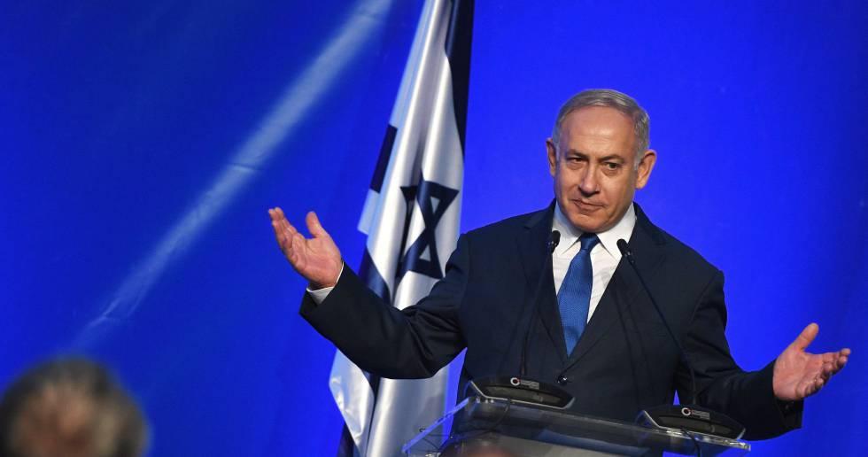 El primer ministro israelí, Benjamín Netanyahu, en un acto el viernes en Varna, Bulgaria.