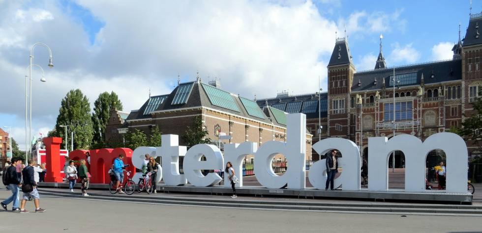 La capital holandesa quiere librarse de su famoso eslogan