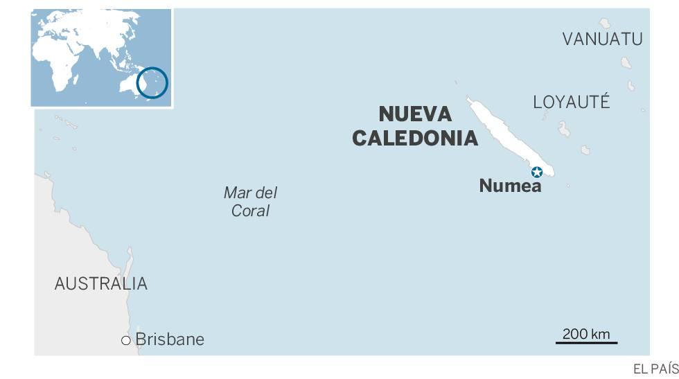 Nueva Caledonia rechaza separarse de Francia