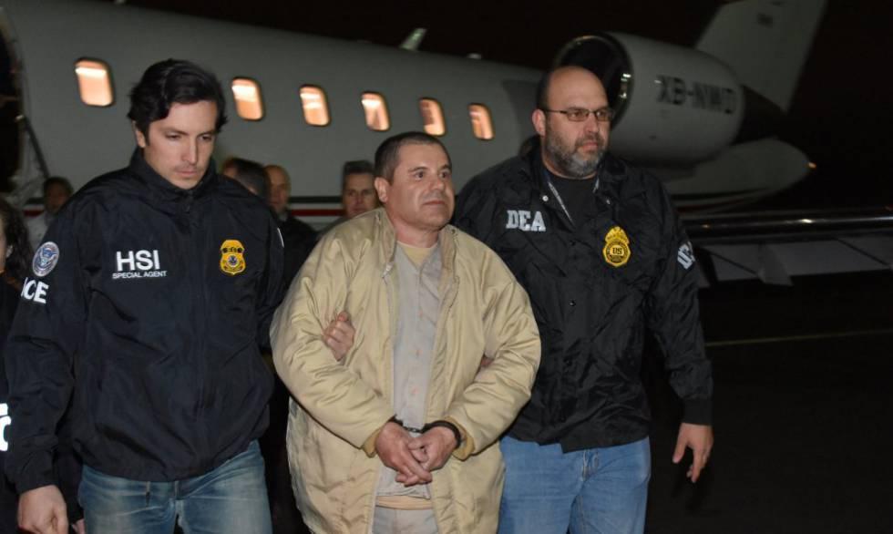 FOTOGALERÍA  . Así fue la extradición de El Chapo Guzmán desde México a EE UU.