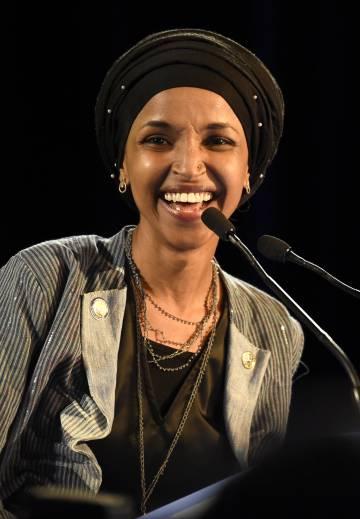 Ilhan Omar, congresista demócrata por el quinto distrito electoral de Minnesota.