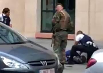 size 40 90fd2 b6fa5 Abatido un hombre tras intentar apuñalar a militares en el centro de  Bruselas