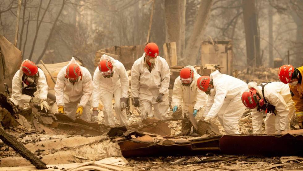 Número de desaparecidos pelos incêndios na Califórnia dispara para mais de 600