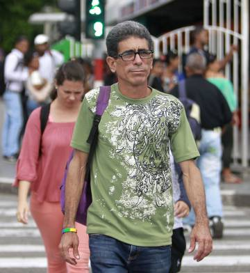El activista Francisco Rodríguez Cruz, en La Habana.