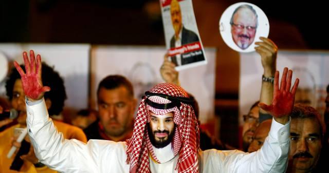 Protesta frente al Consulado saudí en Estambul (Turquía), el pasado 25 de octubre.