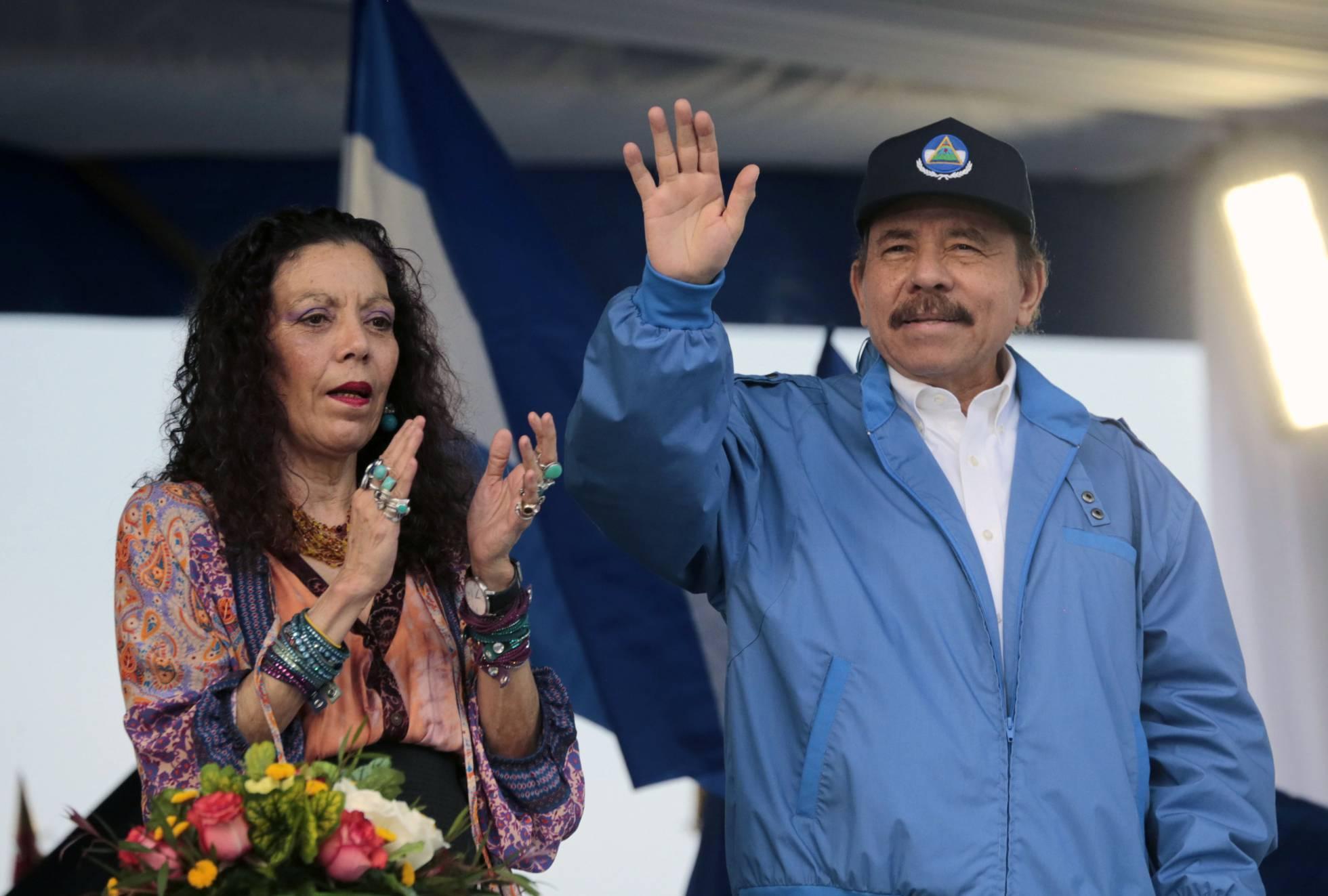 La vicepresidenta de Nicaragua lideró la respuesta a las protestas contra Ortega