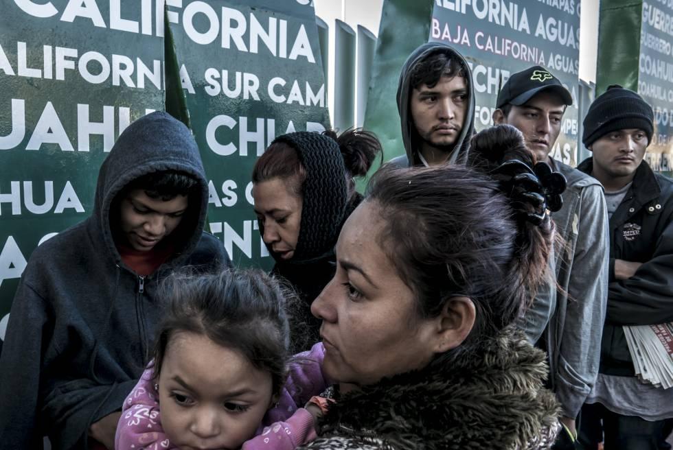 Caravanas, el fenómeno que pondrá a prueba a López Obrador   Internacional   EL PAÍS