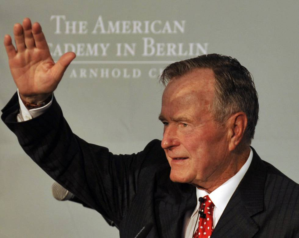 George H. W. Bush, en una imagen de archivo.