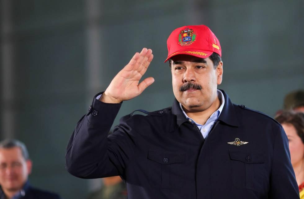 El presidente Nicolás Maduro en Maracay.