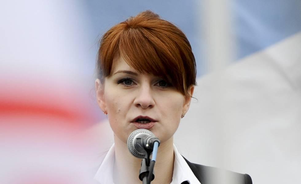Maria Butina, en una foto de archivo de 2013.