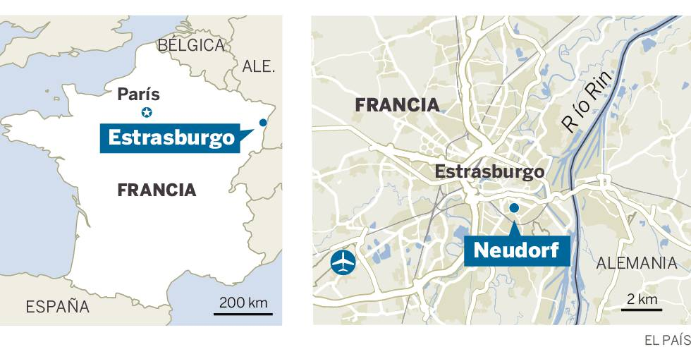 Un tiroteo en el centro de Estrasburgo deja dos muertos y 10 heridos