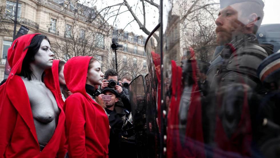 Así te hemos contado la quinta jornada de protestas de los 'chalecos amarillos'