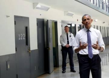 Obama pone el foco en las injusticias del sistema penal de EE UU