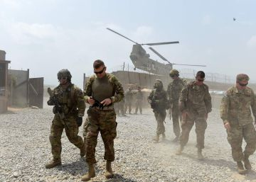 Trump planea recortar a la mitad la presencia militar en Afganistán
