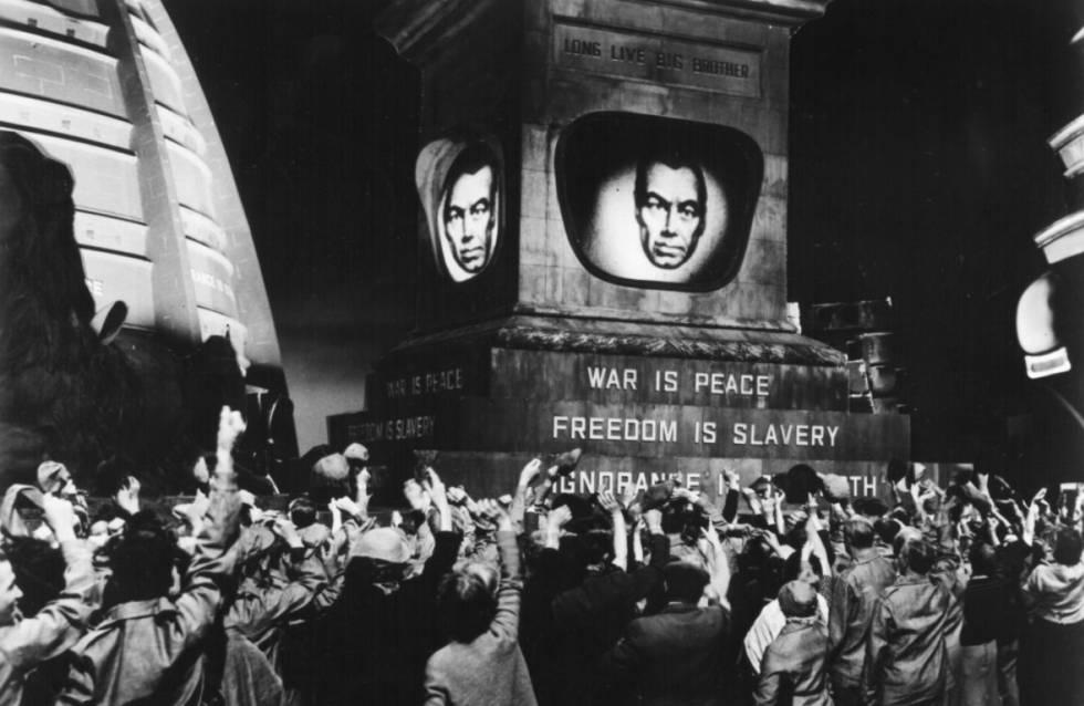Fotograma de la película '1984', del director Michael Anderson (1956).