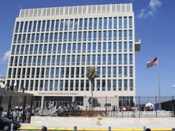 Embajada de  EE UU en Cuba.