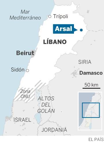 El invierno azota a los refugiados sirios en Líbano