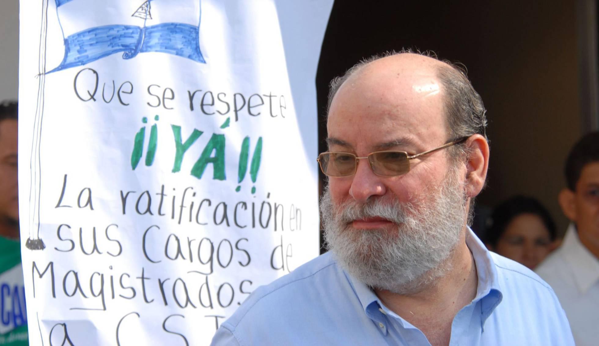 Renuncia el principal aliado de Ortega en la Corte Suprema de Nicaragua