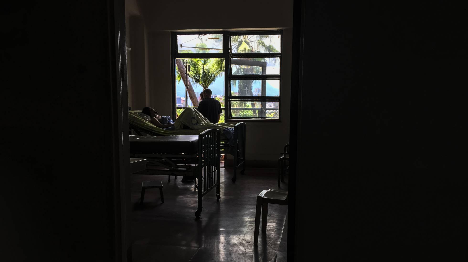 El mortal apagón en un hospital de Caracas