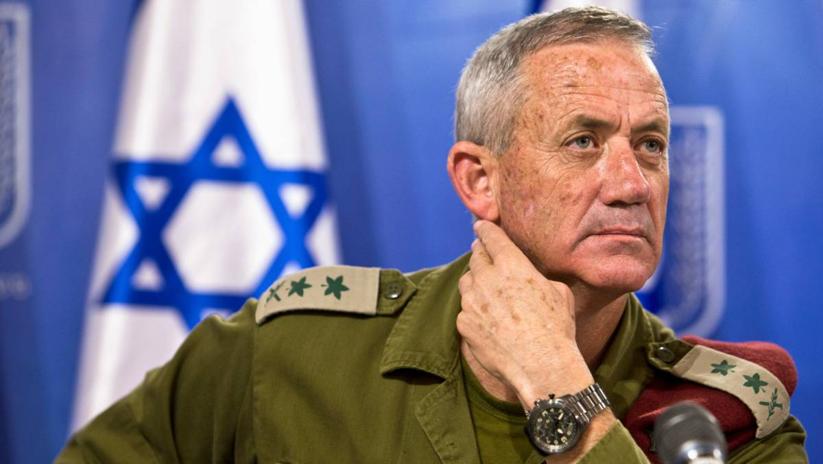 El general israelí Benny Gantz, en Tel Aviv en julio de 2014.