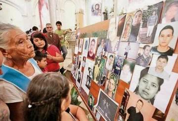 En 2014 se realizó una misa en Tala por los desaparecidos de la región. Las familias llevaron las fotos de sus seres queridos. Después, el sacerdote que la organizó recibió amenazas y tuvo que irse de Tala.