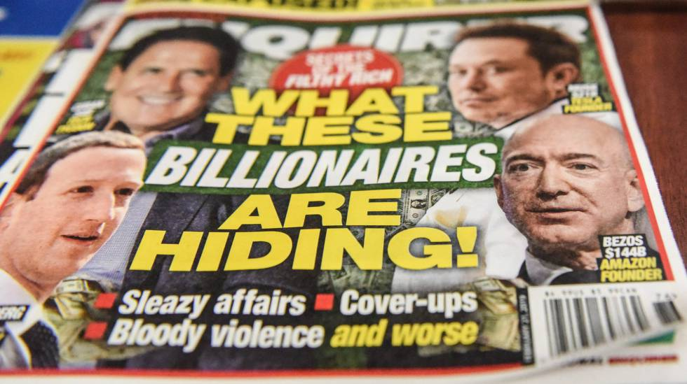 Portada del tabloide National Enquirer, de American Media