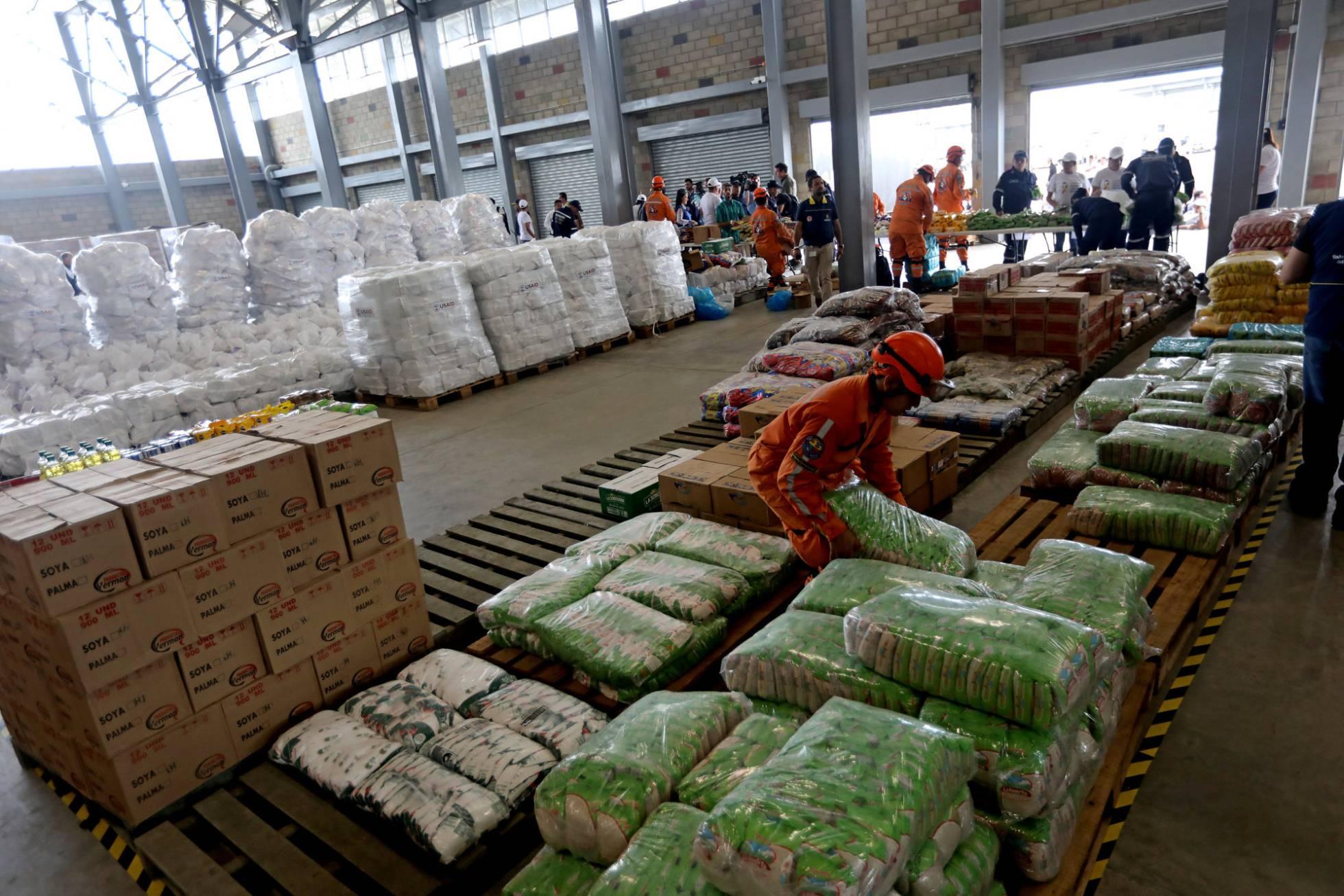 Las ayudas y la expectativa se almacenan en Cúcuta