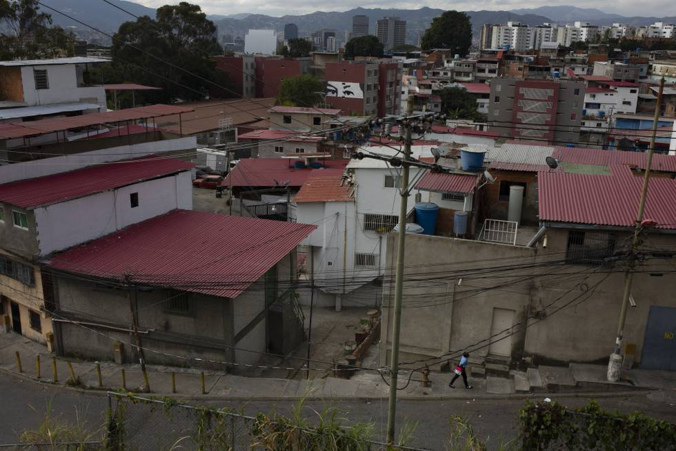 Vista del barrio de Cotiza, en Caracas.