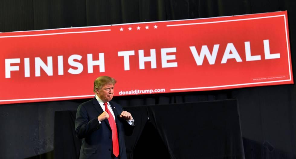 El presidente Trump, en El Paso (Texas).