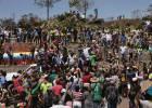 La ayuda humanitaria se atasca en la frontera de Venezuela