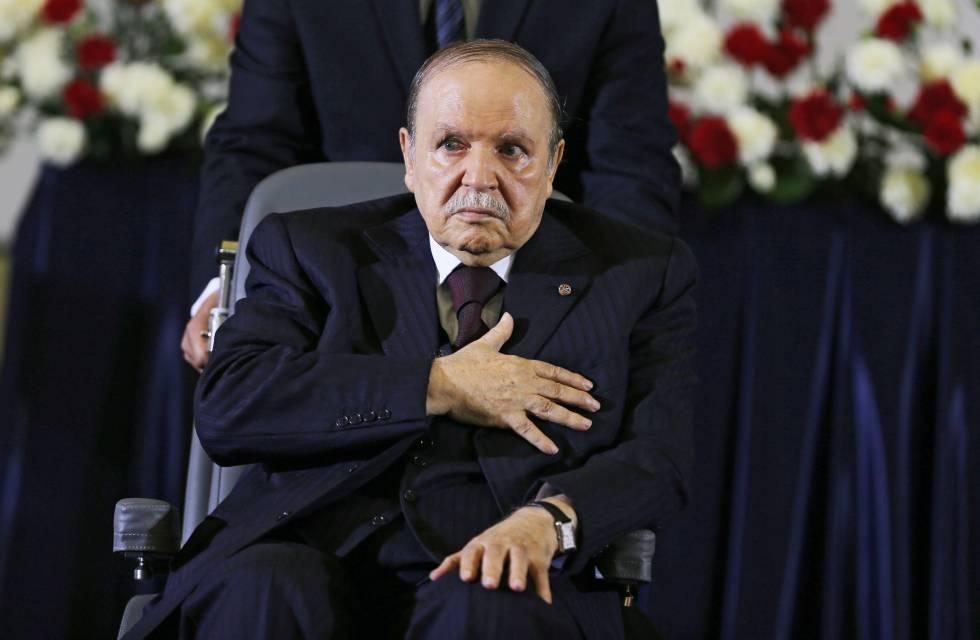 El presidente argelino, Abdelaziz Bouteflika, en Argel en abril de 2014.