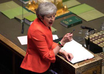 May, este miércoles en el Parlamento británico.