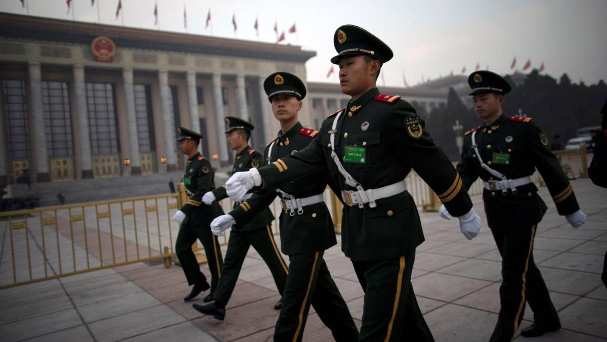 El gasto militar de China continúa su aumento por encima del PIB