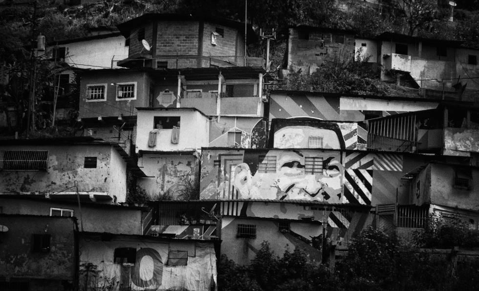 Vista del barrio de Catia, en el municipio Libertador, en Caracas.