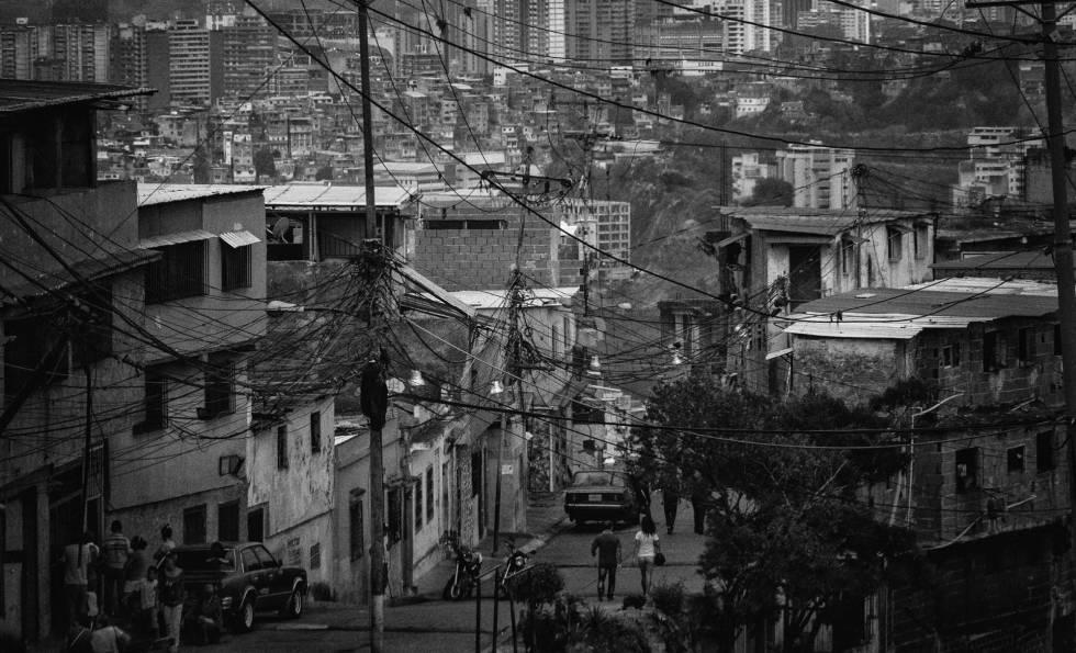 Un barrio de Caracas.
