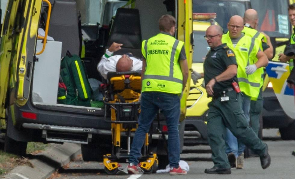 Um dos feridos no tiroteio de Christchurch, na Nova Zelândia.