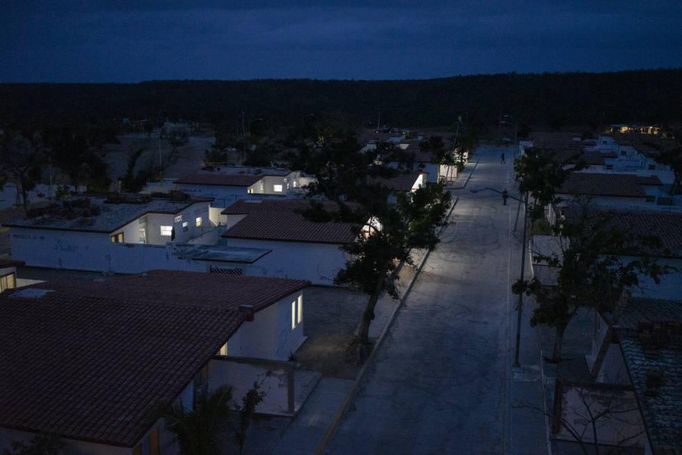 Las calles del centro penitenciario Morelos en Islas Marías.