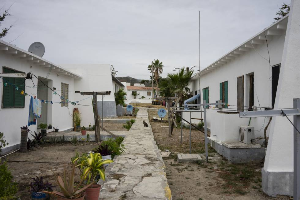Las casas de los empleados de Islas Marías en Balleto.