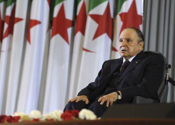 Abdelaziz Buteflika, tras tomar posesión del cargo en Argel en 2014.