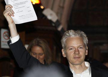 Julian Assange, en 2010 en Londres.